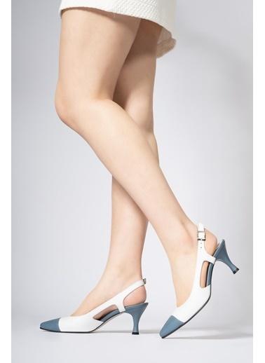 CZ London Hakiki Deri Ayakkabı Beyaz